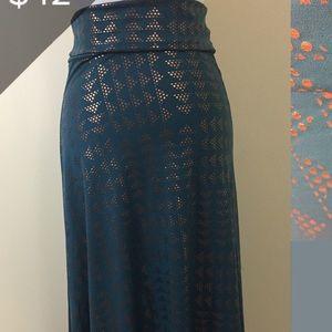 Lularoe Elegant Maxi Size Med NWT